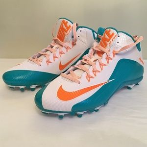 NIKE ALPHA PRO 2 TD Football Cleats Sz 16 NEW Teal